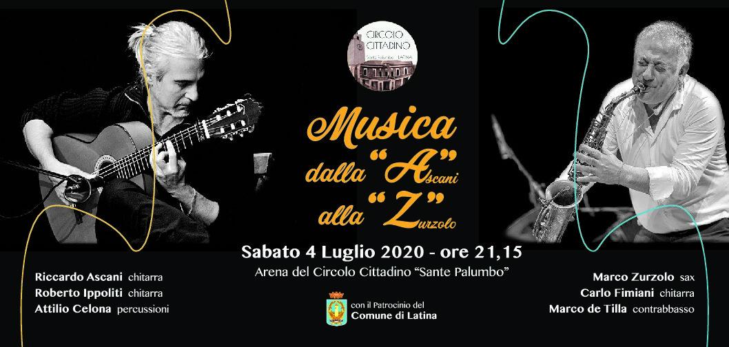 Latina risorge in jazz, al circolo cittadino torna la musica. Pardon, la vita